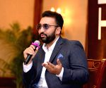 Raj Kundra during an interactive session