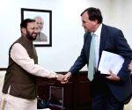 British High Commissioner to India meets Prakash Javadekar