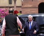 UK Defence Secretary meets Jaitley