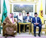 BRUNEI-BANDAR SERI BEGAWAN-SAUDI ARABIA KING-VISIT