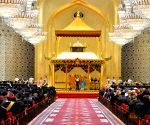BRUNEI-BANDAR SERI BEGAWAN-ROYAL BIRTHDAY-CELEBRATION