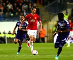 BELGIUM-BRUSSELS-EUROPA LEAGUE-ANDERLECHT VS MANCHESTER UNITED