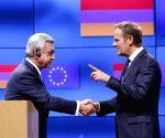BELGIUM BRUSSELS EU ARMENIA PRESIDENT VISIT