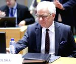 BELGIUM BRUSSELS EU FOREIGN MINISTERS MEETING