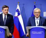 BELGIUM BRUSSELS EU SLOVENIA PRESIDENT VISIT