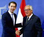 BELGIUM BRUSSELS EU AUSTRIA KURZ VISIT