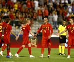 BELGIUM BRUSSELS SOCCER FRIENDLY BEL VS EGY