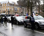 BELGIUM BRUSSELS PROTEST TAXI DRIVERS