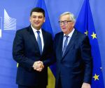 BELGIUM BRUSSELS EU UKRAINE GROYSMAN VISIT