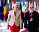 BELGIUM BRUSSELS EU INFORMAL DINNER