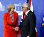 BELGIUM BRUSSELS EU BRITAIN MEETING