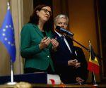 BELGIUM BRUSSELS EU CANADA CETA SIGNING CEREMONY