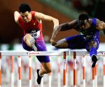BELGIUM-BRUSSELS-ATHLETICS-IAAF DIAMOND LEAGUE-MEN'S 110M HURDLES