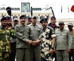 Attari Border: BSF with Pak Rangers officials celebrate Eid ul-Fitr