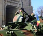 ROMANIA-NATIONAL DAY-MILITARY PARADE