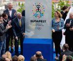 HUNGARY BUDAPEST 2024 OLYMPIC GAMES LOGO