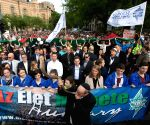 HUNGARY BUDAPEST HOLOCAUST COMMEMORATION MARCH