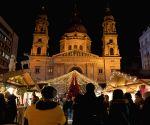 Hungary budapest christmas Market