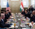 HUNGARY BUDAPEST U.S. SECRETARY OF STATE VISIT