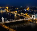 Budapest (Hungary): 50th anniversary of the new Elisabeth Bridge