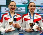 HUNGARY BUDAPEST FINA ARTISTIC SWIMMING WORLD JUNIOR CHAMPIONSHIPS