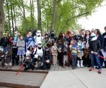 HUNGARY BUDAPEST STAR WARS DAY CELEBTATION