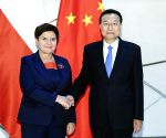 HUNGARY BUDAPEST CHINA LI KEQIANG MEETING