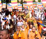 Gaya (Bihar): Buddha Purnima celebrations at Mahabodhi Temple