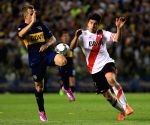 Buenos Aires (Argentina): South American Cup semifinals - Boca Juniors v/s River Plate