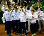 Buenos Aires: Argentina V/S Serbia - Davis Cup series