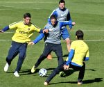 Buenos Aires: players take part in a training session