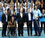 ARGENTINA-BUENOS AIRES-RIO 2016-FAREWELL CEREMONY