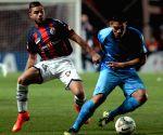 Buenos Aires: San Lorenzo v/s Bolivar during first leg semifinal match Libertadores Cup 2014
