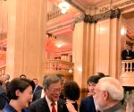 Buenos Aires (Argentina): PM Modi during an interaction with G20 leaders