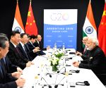 Buenos Aires (Argentina): Modi meets Chinese President Xi