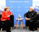 Buenos Aires (Argentina): G20 Summit - Modi meets Angela Merkel