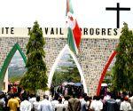 BURUNDI BUJUMBURA RWAGASORE ASSASSINATION ANNIVERSARY