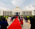 BURUNDI BUJUMBURA CHINA AIDED STATE HOUSE LAUNCH