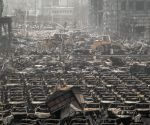CHINA TIANJIN EXPLOSION SITE