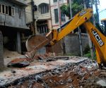 Demolition drive in Assam capital