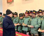 Bum La: Rajnath Singh visits India's forward areas in Bum La along LAC with China