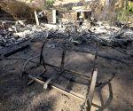 U.S. CALIFORNIA BRUSH FIRE