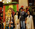 Saraswati Puja celebrations - Sourav Ganguly
