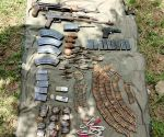 Cache of arms, ammunition, fake currency recovered by BSF in Akhnoor