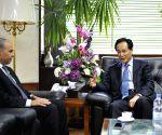 EGYPT CAIRO XINHUA CAI MINGZHAO MEETING