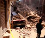 EGYPT GIZA BUILDING COLLAPSE