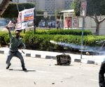 EGYPT CAIRO UNIVERSITY CLASH