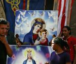 EGYPT CAIRO COPTS VIRGIN MARY FEAST OF ASSUMPTION