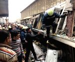 20 killed in Cairo railway station fire