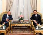 EGYPT-CAIRO-YANG JIECHI-MEETING